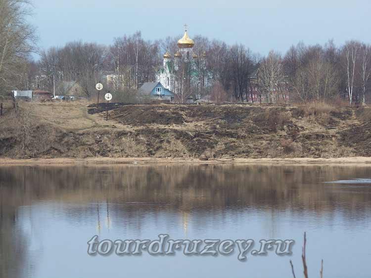Невская Дубровка напротив Невского Пятачка