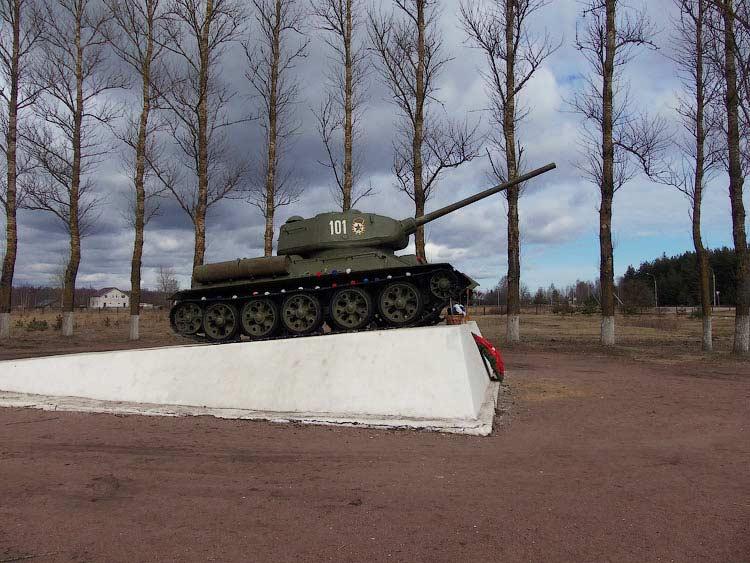Танк Т-34, Невский Пятачок
