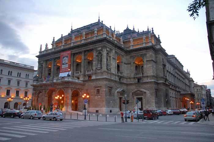 Оперный театр, Будапешт