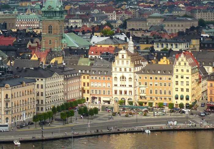 Стокгольм - столица Швеции