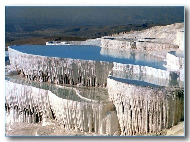 Бассейны Памуккале