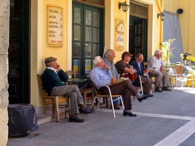 Кафенио в Греции