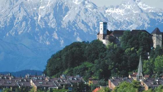 Достопримечательности Любляны, Словения
