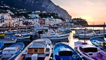 Путешествие на остров Капри, Италия