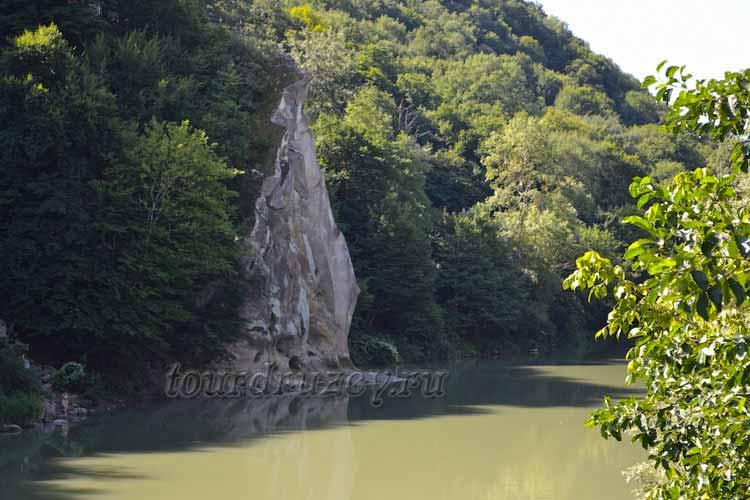 Река Псекупс, Горячий Ключ