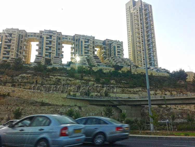 Новостройки Иерусалима