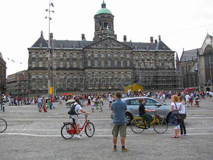 Амстердам, главная площадь