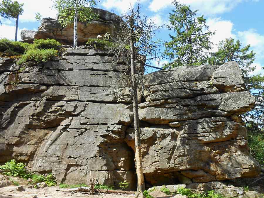 Скалы Каменного города