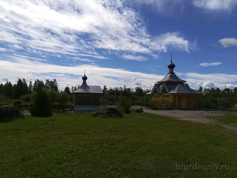 Прекрасная природа вокруг монастыря