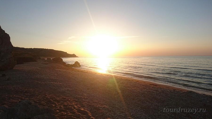 Восход в Крыму